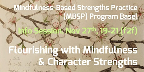 f2f MBSP Info Session – Flourish with Mindfulness & Character Strengths tickets