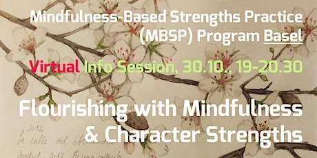 Virtual MBSP Info Session – Flourish with Mindfulness & Character Strengths