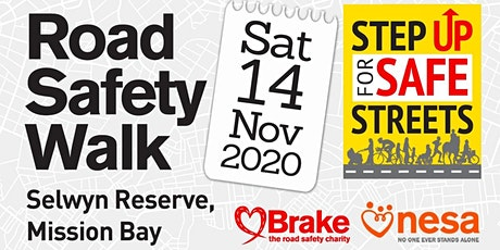 Step Up for Road Safety Walk tickets