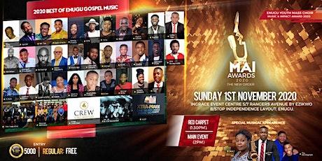 MAI Awards 2020 tickets