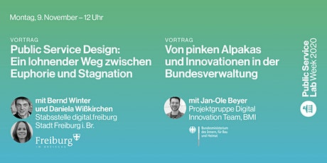Public Service Lab Week 2020 – Montag, 9. November Tickets