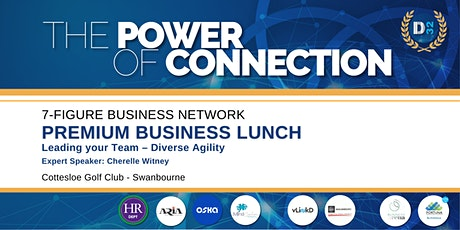 District32 Connect Premium Business Lunch - Thu 26th Nov tickets