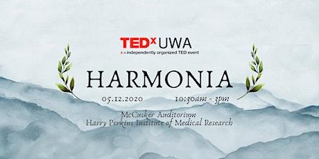 TEDxUWA 2020: Harmonia tickets