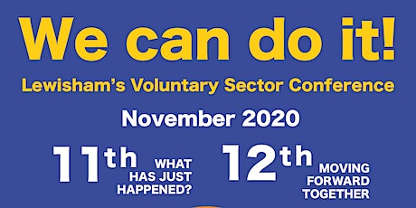 Day 1 - What Has Just Happened?! | Lewisham's Voluntary Sector Conference