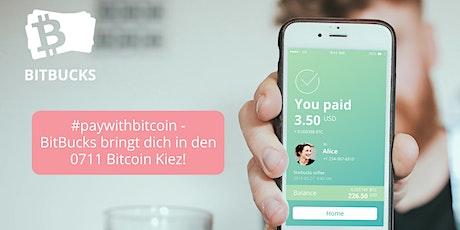 Bitcoin Kiez Stuttgart! Bitcoin akzeptieren mit BitBucks - Online-Event! Tickets