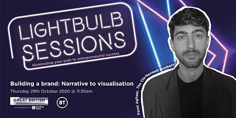 Building a brand: Narrative to visualisation tickets