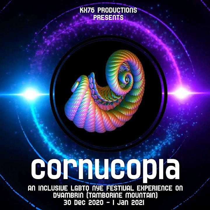CORNUCOPIA: The LGBTQ NYE Festival Experience on Dyambrin (Tamborine Mtn) image
