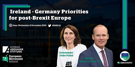 Ireland & Germany's Priorities in post-Brexit Europe tickets
