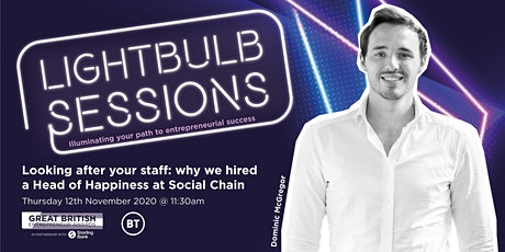 Looking after your staff: Why we hired a Head of Happiness at Social Chain tickets