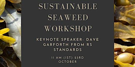 Sustainable Seaweed Workshop/ Ceardlann Feamainn inbhuanaithe tickets