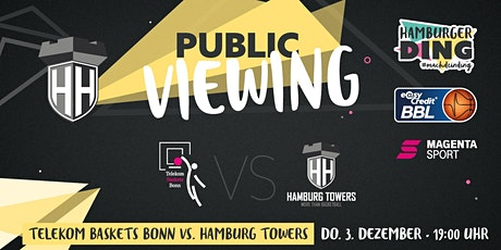 Hamburg Towers: Public Viewing im Hamburger Ding Tickets