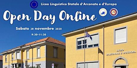 Open Day Online tickets