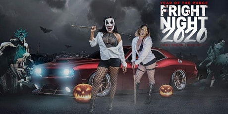 "RESERVE PARKING @ FRIGHT NIGHT 2020 ""YEAR OF THE P tickets"