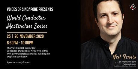 VOS World Conductor Masterclass Series: Neil Ferris tickets