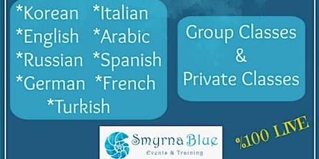 Level 1 Online Italian Language Classes tickets