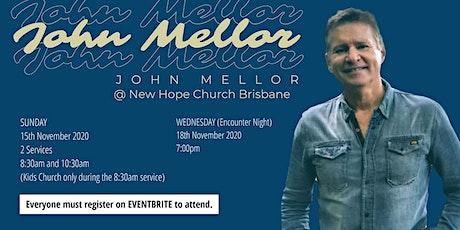 John Mellor Healing Service tickets
