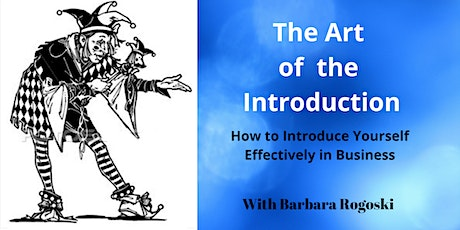 The Art of the Introduction - How to Introduce Yourself Effectively tickets
