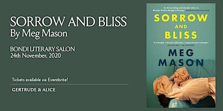 BONDI LITERARY SALON WITH MEG MASON, NOVEMBER 2020 tickets