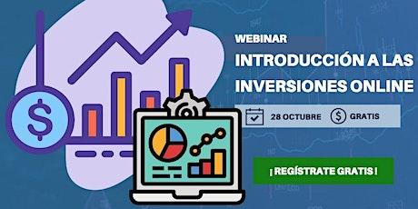 Introducción a las inversiones online boletos