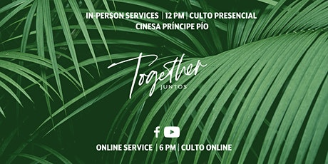 IC:Madrid In-Person Service // Culto Presencial entradas