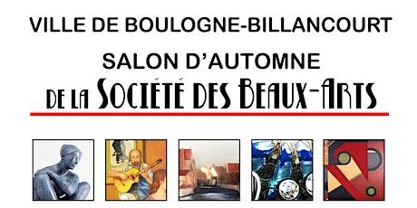 Visites privées - Salon d'automne de la Société des Beaux-Arts billets
