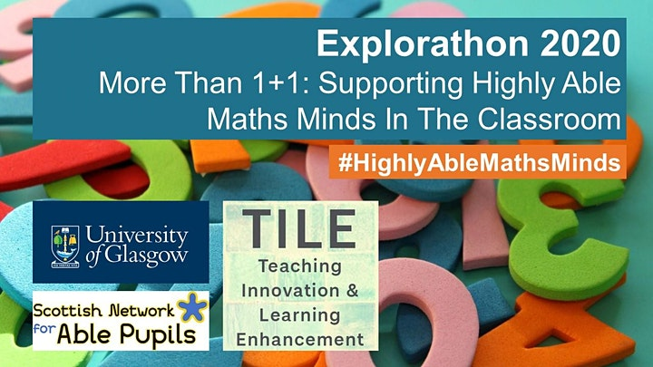 Webinar: More Than 1+1: Supporting Highly Able Maths Minds In The Classroom image
