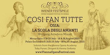 Cosi Fan Tutte by Wolfgang Amadeus Mozart - Konzertante Version tickets