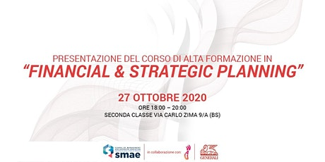Presentazione del Corso in Financial & Strategic Planning tickets