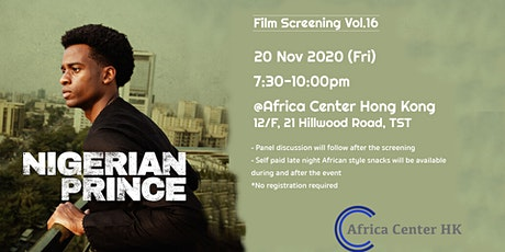 Film Screening Vol.16 | Nigerian Prince tickets