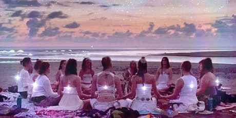 Beachfront Full Moon Circle to Connect with your Guides tickets