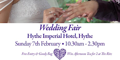 Hythe Imperial Hotel Wedding Show - POSTPONED DUE TO COVID - 19 GUIDELINES tickets