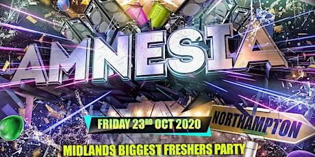 Amnesia NN2 - Northampton's Wildest Freshers Party tickets