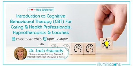 Free Webinar! Introduction To Cognitive Behavioural Therapy (CBT) tickets