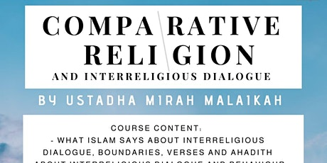 The Study of Comparative Religion and Interreligious Dialogue tickets