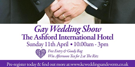 The Annual Gay Wedding Show 2021 tickets