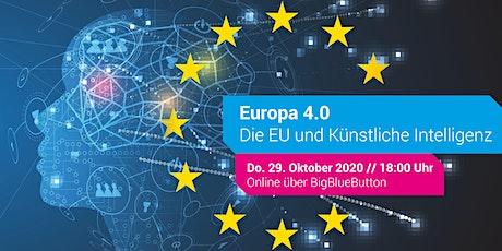 Europa 4.0: Die EU und Künstliche Intelligenz Tickets