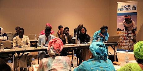 FORMATIONS DES FEMMES ENTREPRENEURES EN PASSATION DES MARCHES PUBLICS billets