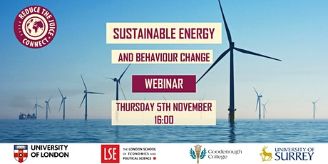 Sustainable Energy and Behaviour Change tickets