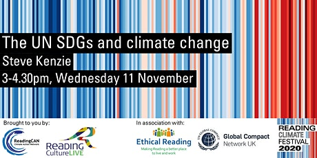 The UN SDGs and climate change (Reading Climate Festival) tickets