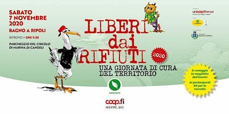 Liberi dai rifiuti a Bagno a Ripoli biglietti