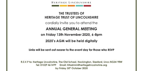 Heritage Lincolnshire AGM tickets