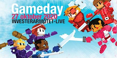 Gameday, Investerarmötet-Live 27 oktober med Carl Armfelt, TIN Fonder! biljetter