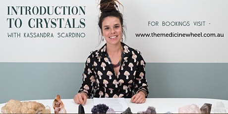 Introduction to Crystals with Kassandra Scardino tickets