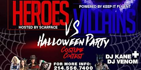 Heroes Vs Villains Halloween Bash tickets