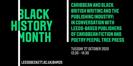Caribbean and Black British Writing and the Publishing Industry tickets