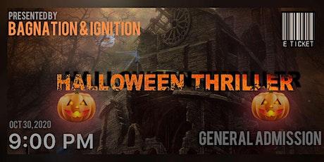 Halloween Thriller tickets