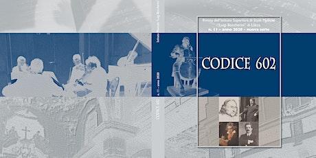 Presentazione CODICE 602 biglietti