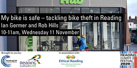 My bike is safe - tackling bike theft in Reading (Reading Climate Festival) tickets