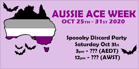 Aussie Ace Week's Spoooky Discord Party tickets