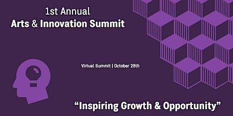 1st Annual Arts & Innovation Summit tickets